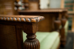 Wooden furniture restoration