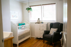 Restored Nursery Furniture
